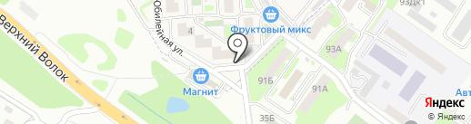 Мясной бутик от Сергеевича на карте Смоленска