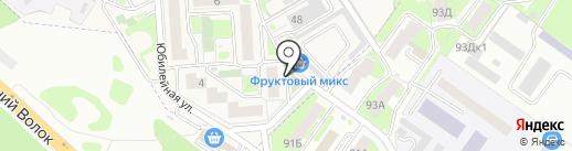 Екатерина на карте Смоленска