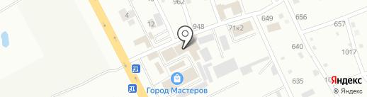 Городок на карте Смоленска