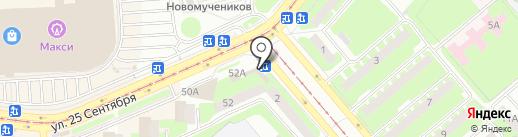 Мастерская по ремонту обуви и изготовление ключей на карте Смоленска