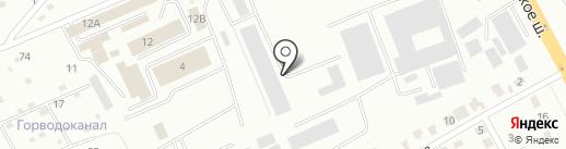 Астерия на карте Смоленска