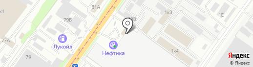 Проминструмент на карте Смоленска