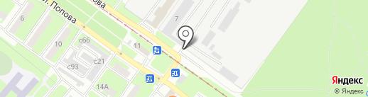 Смоленскэнерго на карте Смоленска