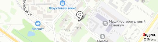 Ключ здоровья на карте Смоленска