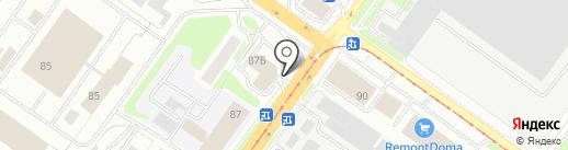 Хабаръ на карте Смоленска
