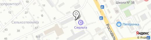 Автомобилист-Спецтехника на карте Смоленска