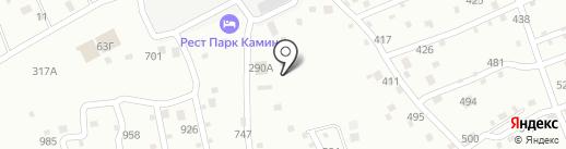 Restpark Кам`Ин на карте Смоленска