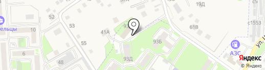 Парашютный мир, АНО на карте Смоленска