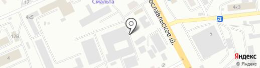 BAST на карте Смоленска