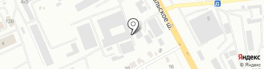 Фарба-Смол, ЗАО на карте Смоленска