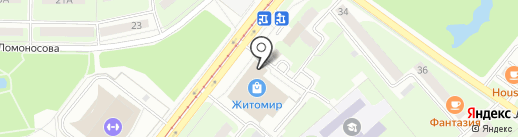 АРИГАТО на карте Смоленска