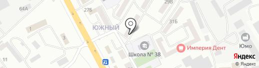 Магазин молочной продукции на карте Смоленска