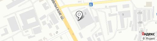 ТТЦ Аграрий на карте Смоленска