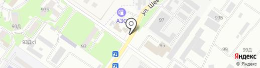 Ойл-сервис на карте Смоленска