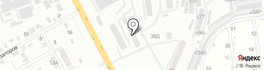 Компания услуг спецтехники на карте Смоленска