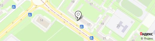 Балконный Рай на карте Смоленска