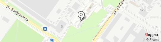 Разводов.net на карте Смоленска