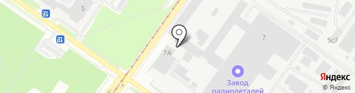 Сиа Интернейшнл-Смоленск, ЗАО на карте Смоленска
