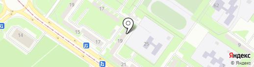 Ригель на карте Смоленска
