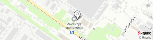 Служба заказа транспорта на карте Смоленска