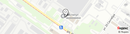Банкомат, Райффайзенбанк на карте Смоленска