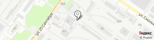 АРТ-статус на карте Смоленска