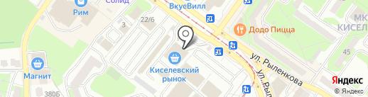 Планета на карте Смоленска