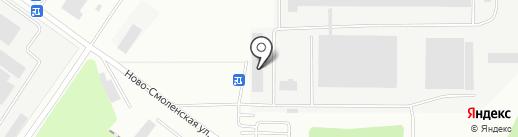 Сантехно на карте Смоленска