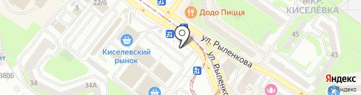 For you на карте Смоленска