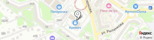 Rantsans на карте Смоленска