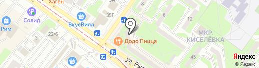 Газэнергобанк на карте Смоленска