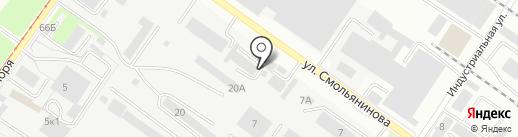 Дисконт на карте Смоленска