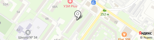 Webtime на карте Смоленска
