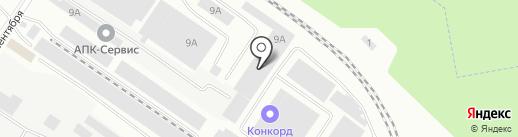Компания по аренде спецтехники на карте Смоленска