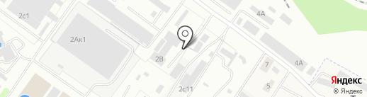 Грузовик на карте Смоленска