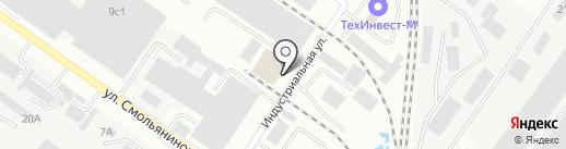 Бел Лайт Групп на карте Смоленска
