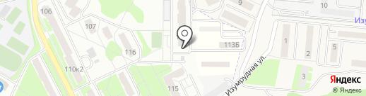 Капитель на карте Смоленска