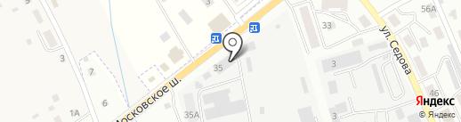 Магазин мебели на заказ на карте Смоленска