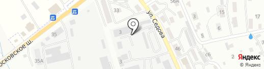 Краснодеревщик на карте Смоленска