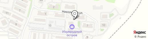 Никольские ворота-2000 на карте Смоленска
