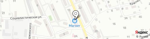 НаТриКа на карте Смоленска