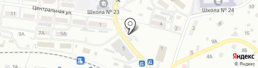 Ю Nova на карте Смоленска
