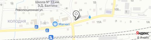 Почтовое отделение №33 на карте Смоленска