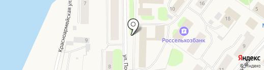 Центр социальной поддержки населения по Кольскому району на карте Колы