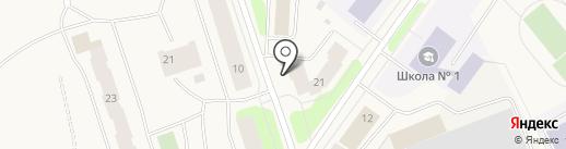 Айсберг на карте Колы