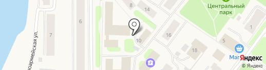 Адвокатский кабинет Воронковой Н.Н. на карте Колы