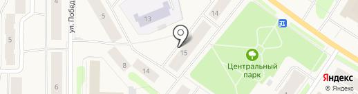 Продуктовый магазин на карте Колы