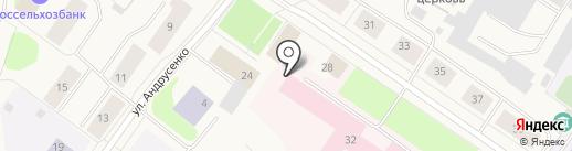 Кольская парикмахерская эконом-класса на карте Колы