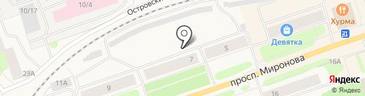 Дока на карте Колы