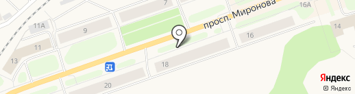 Лотос на карте Колы
